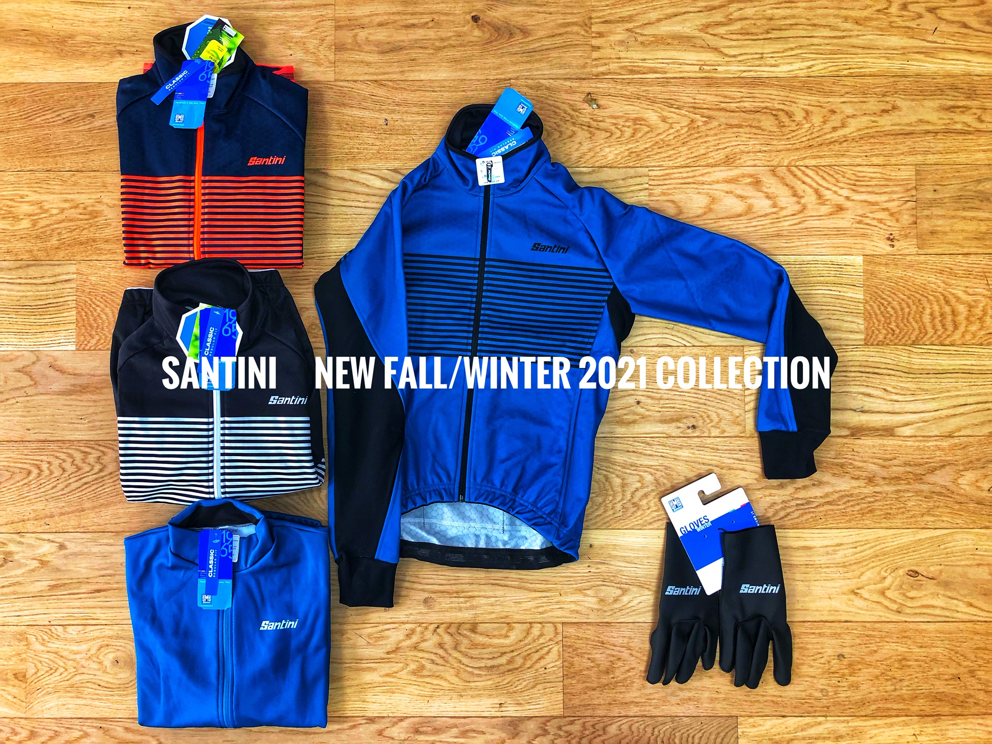La collection automne/hiver 2021 Santini homme et femme est arrivée!