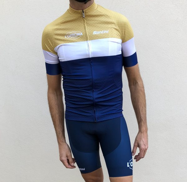 Santini cycling outfit by l'officina